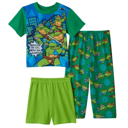 Toddler Boy Teenage Mutant Ninja Turtles Pajamas