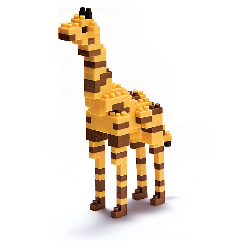 nanoblock Animals Level 3 Giraffe 3D Puzzle