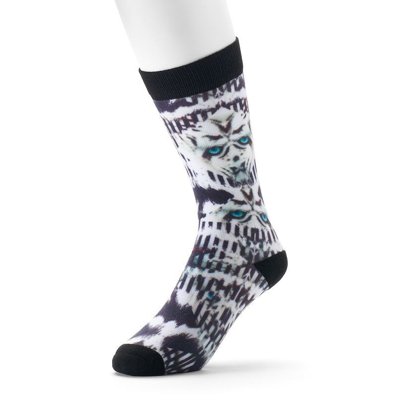 Men's adidas adidas NEO White Tiger Crew Socks
