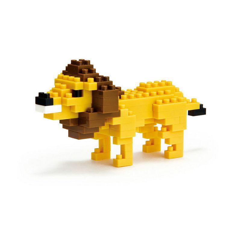 nanoblock Animals Level 2 Lion 3D Puzzle