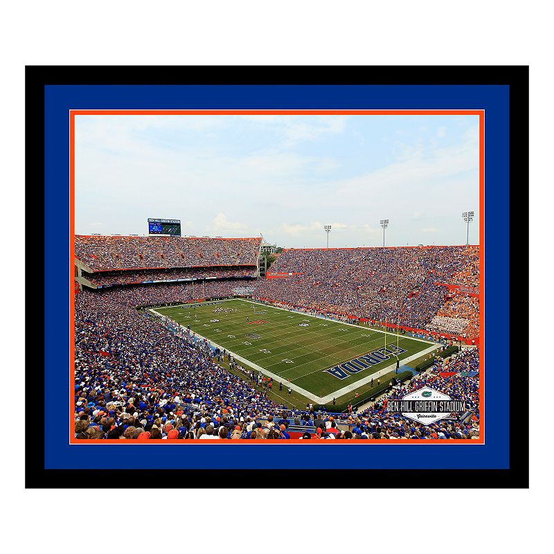 Florida Gators Stadium Framed Wall Art