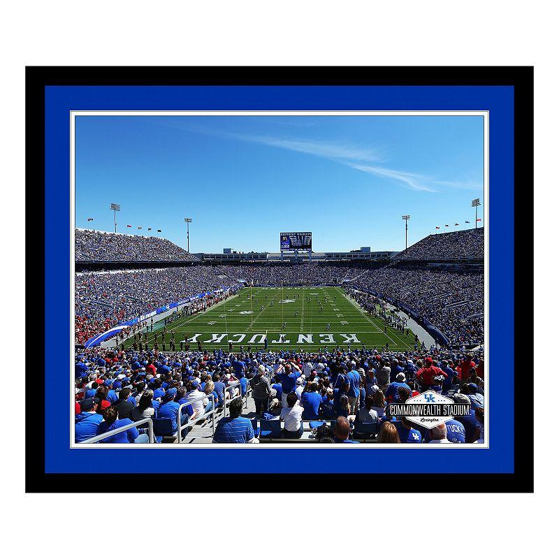 Kentucky Wildcats Stadium Framed Wall Art
