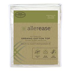 Allerease Organic Mattress Pad by