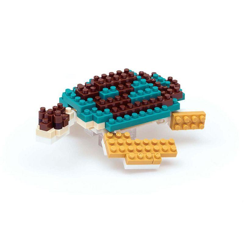 nanoblock Animals Level 1 Green Sea Turtle 3D Puzzle
