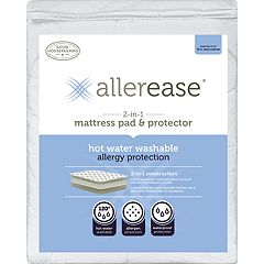 Allerease 2-in-1 Mattress Pad by