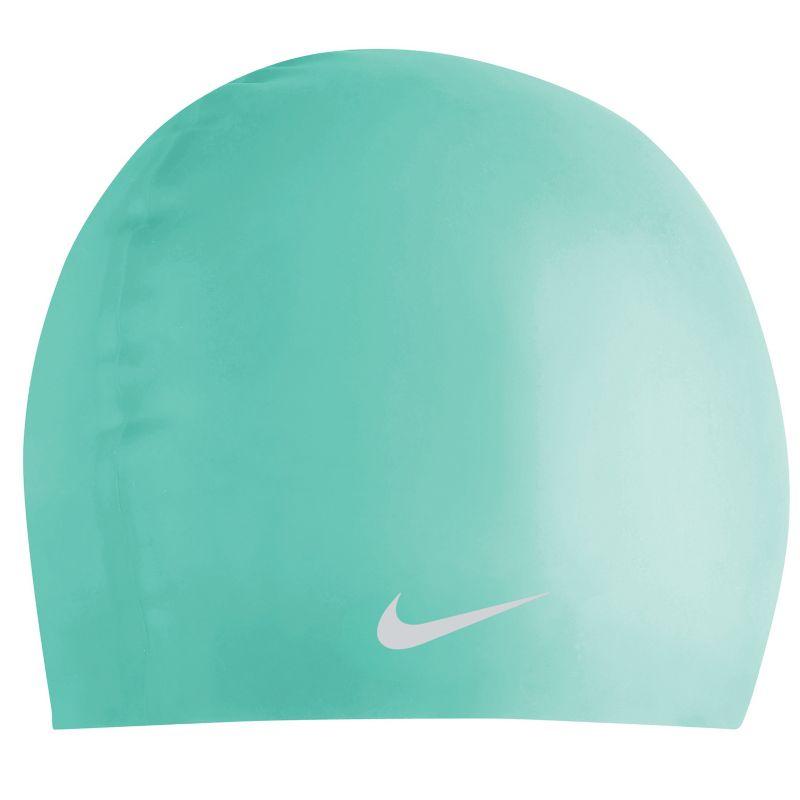 Nike Junior Silicone Swim Cap, Lt Green thumbnail
