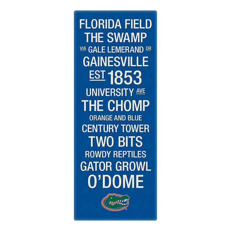 Florida Gators Subway Canvas Wall Art