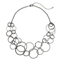 Apt. 9® Circle Link Swag Necklace