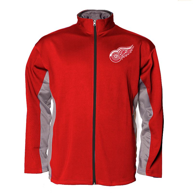 Big & Tall Majestic Detroit Red Wings Fleece Jacket