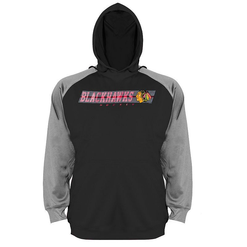 Big & Tall Chicago Blackhawks Raglan Hoodie