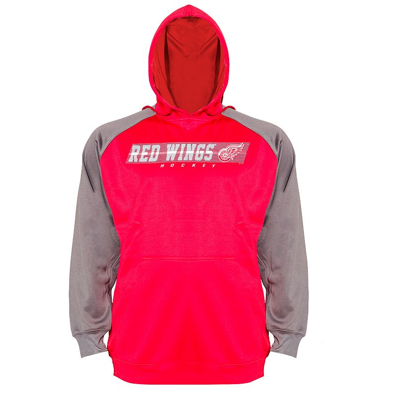 Big & Tall Detroit Red Wings Raglan Hoodie