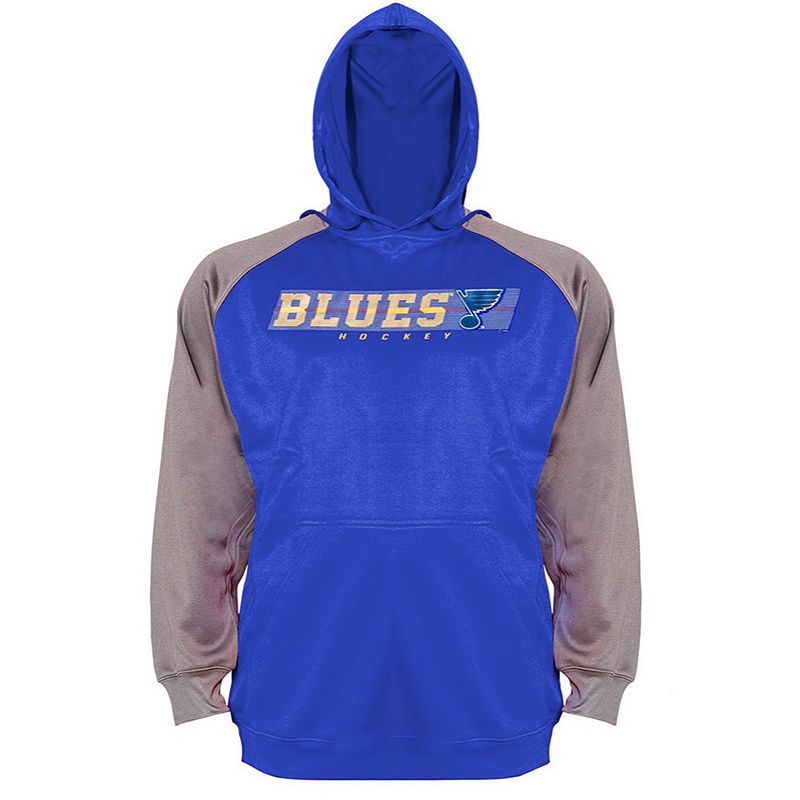 Big & Tall Majestic St. Louis Blues Raglan Hoodie