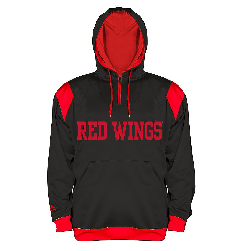 Big & Tall Majestic Detroit Red Wings Quarter-Zip Fleece