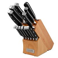 PureLife 13-pc. Forged Cutlery Set