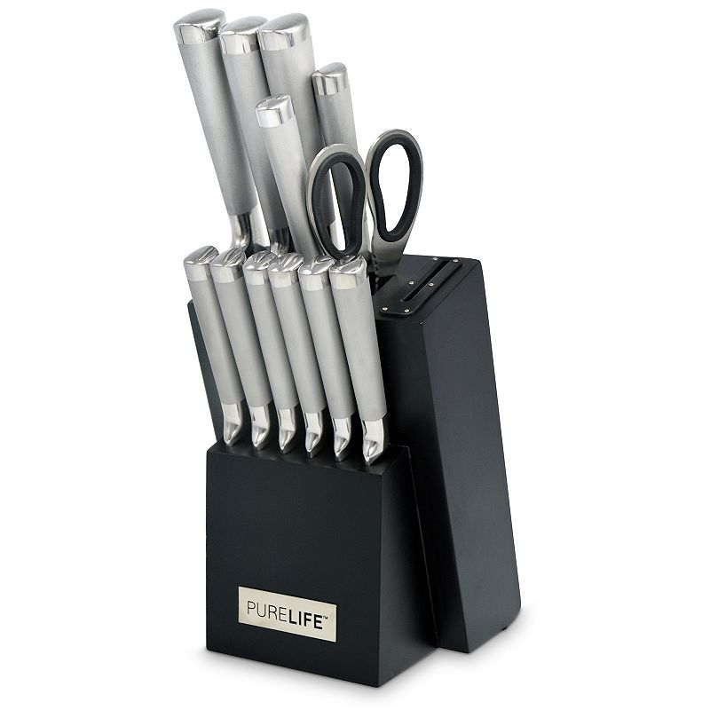 PureLife 13-pc. Forged Stainless Steel Cutlery