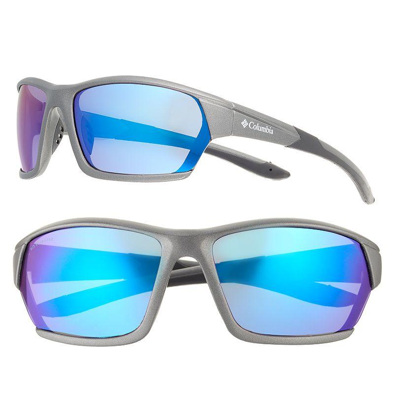 Men's Columbia Polarized Sport Wrap Sunglasses