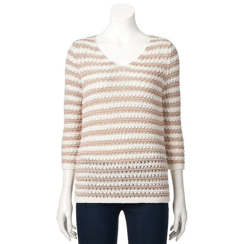 Women's Dana Buchman Tape Yarn Sweater