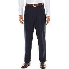 Big & Tall Croft & Barrow Stretch Classic-Fit True Comfort Pleated Suit Pants