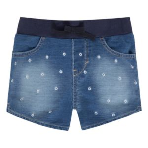 Girls 4-6x Levi's Knit Faux-Denim Shorts