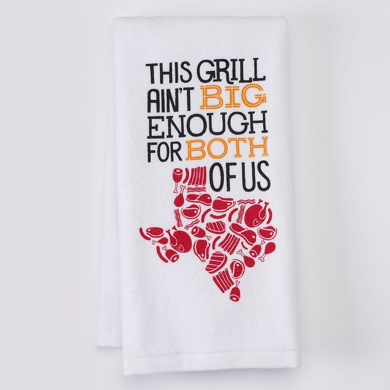 Celebrate Local Life Together Texas Grilling Kitchen Towel