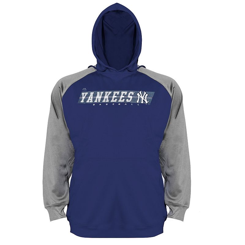 Big & Tall Majestic New York Yankees Raglan Hoodie