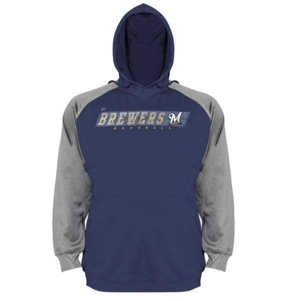 Big & Tall Milwaukee Brewers Hoodie