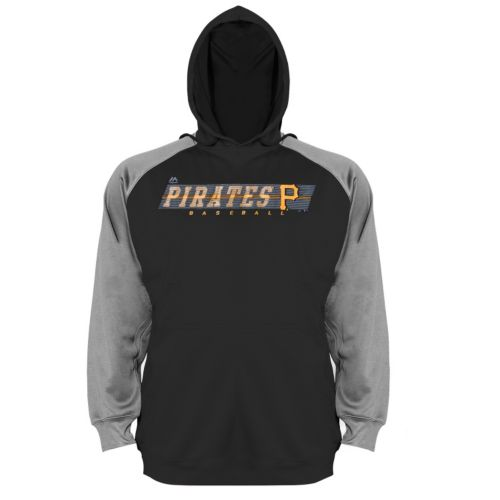 Big & Tall Majestic Pittsburgh Pirates Raglan Hoodie