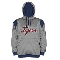 Big & Tall Majestic Detroit Tigers Quarter-Zip Hoodie