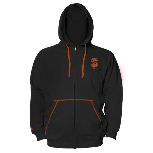 Big & Tall Majestic San Francisco Giants Full-Zip Fleece Hoodie