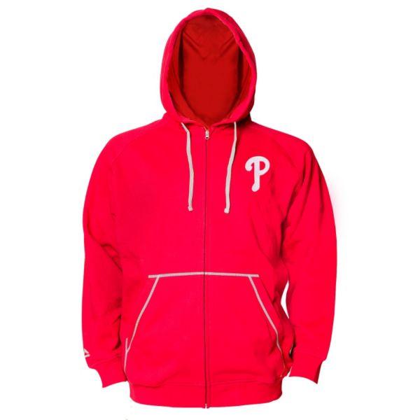 Big & Tall Majestic Philadelphia Phillies Full-Zip Fleece Hoodie