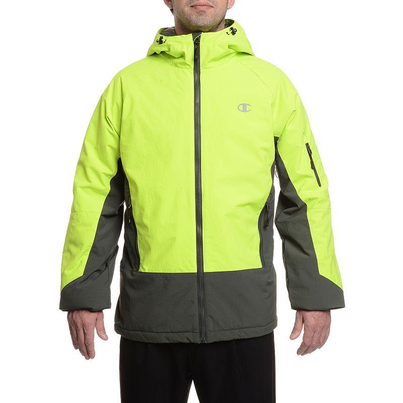 Big & Tall Champion Colorblock Synthetic Down Ski Jacket