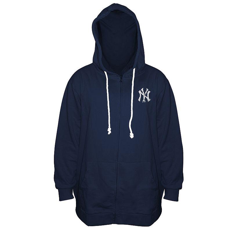 Plus Size Majestic New York Yankees Hoodie