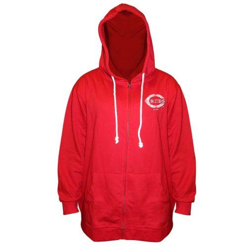 Plus Size Majestic Cincinnati Reds Hoodie