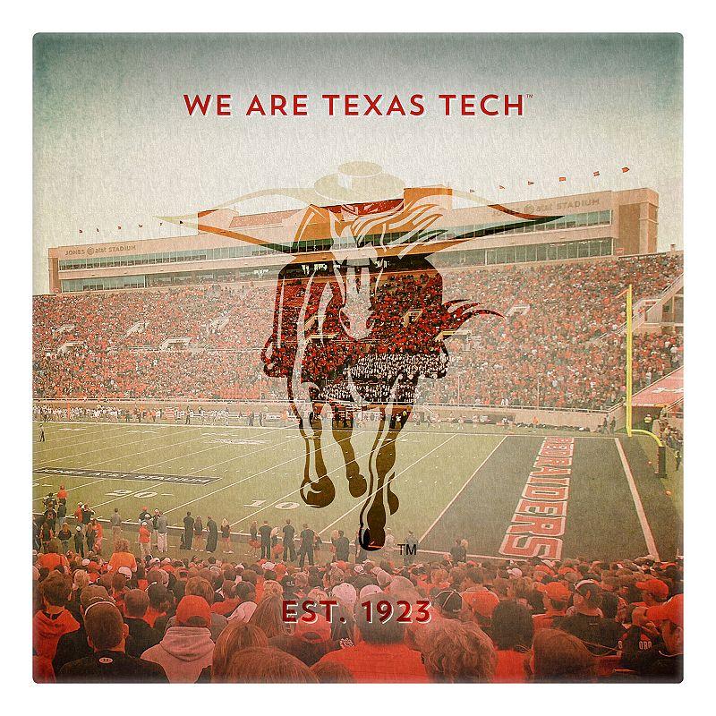 Texas Tech Red Raiders Stadium Canvas Wall Art