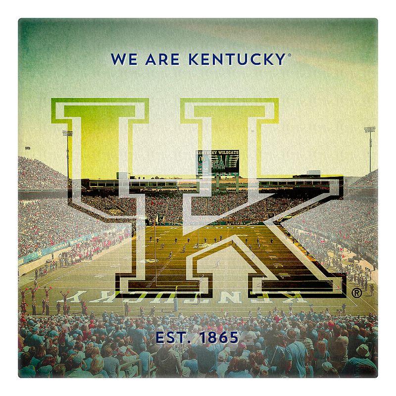 Kentucky Wildcats Stadium Canvas Wall Art