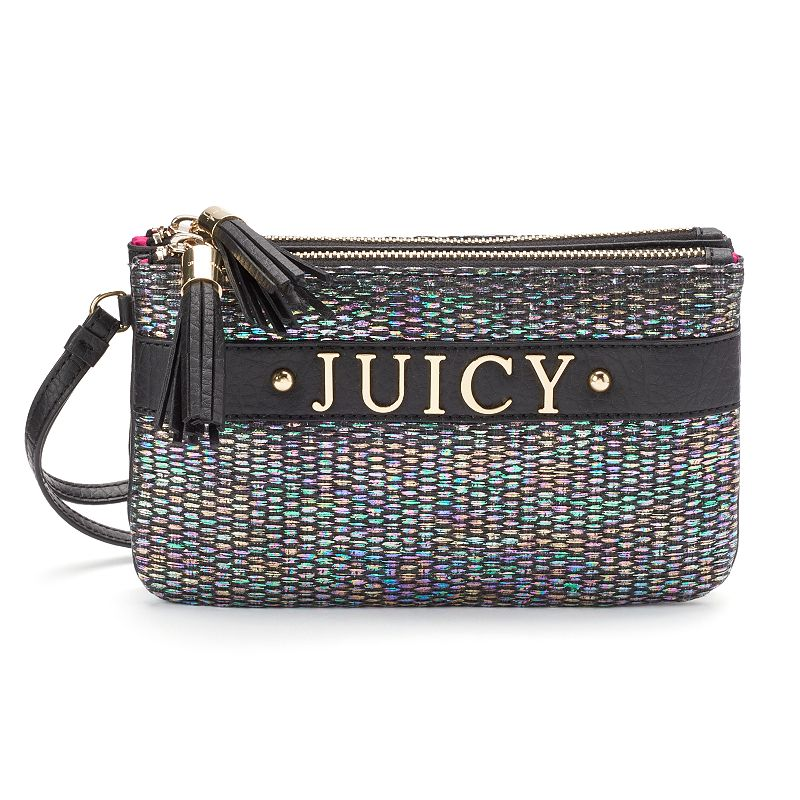 Juicy Couture Iridescent Tassel Wristlet