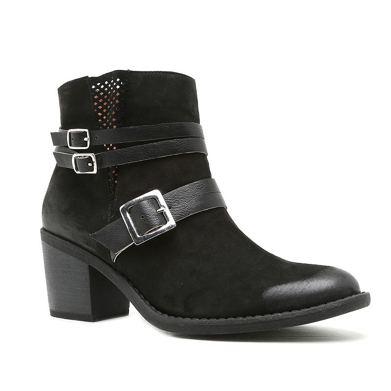 Qupid Tobin Women's Strappy Ankle Boots
