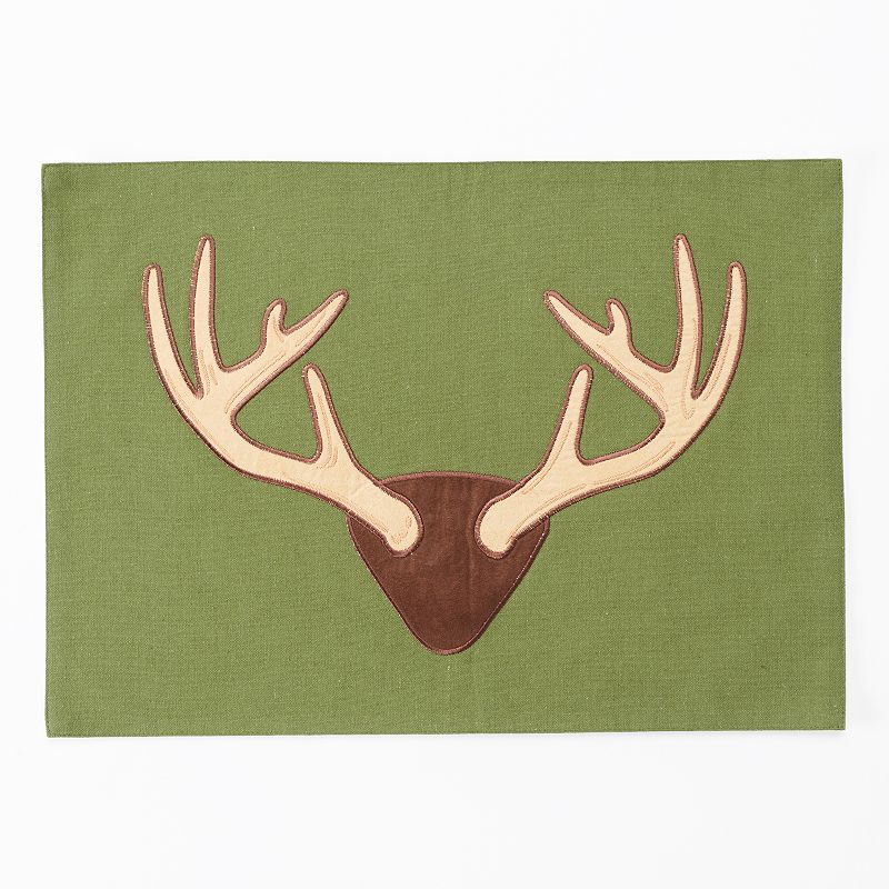 Celebrate Local Life Together Antlers Placemat