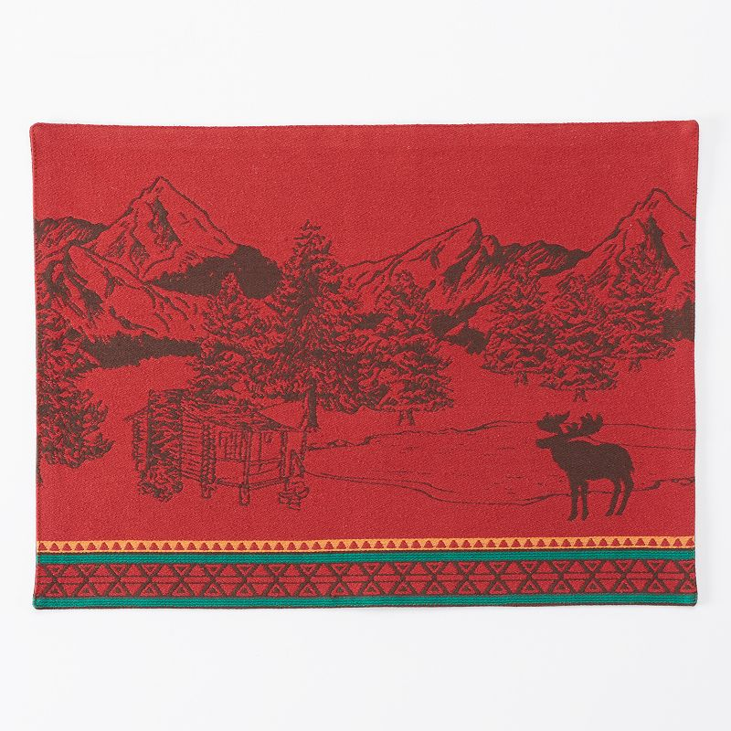 Celebrate Local Life Together Scenic Tapestry Placemat