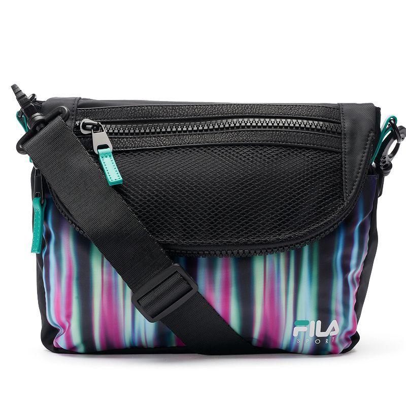 FILA SPORT® Abstract Lights Crossbody Bag