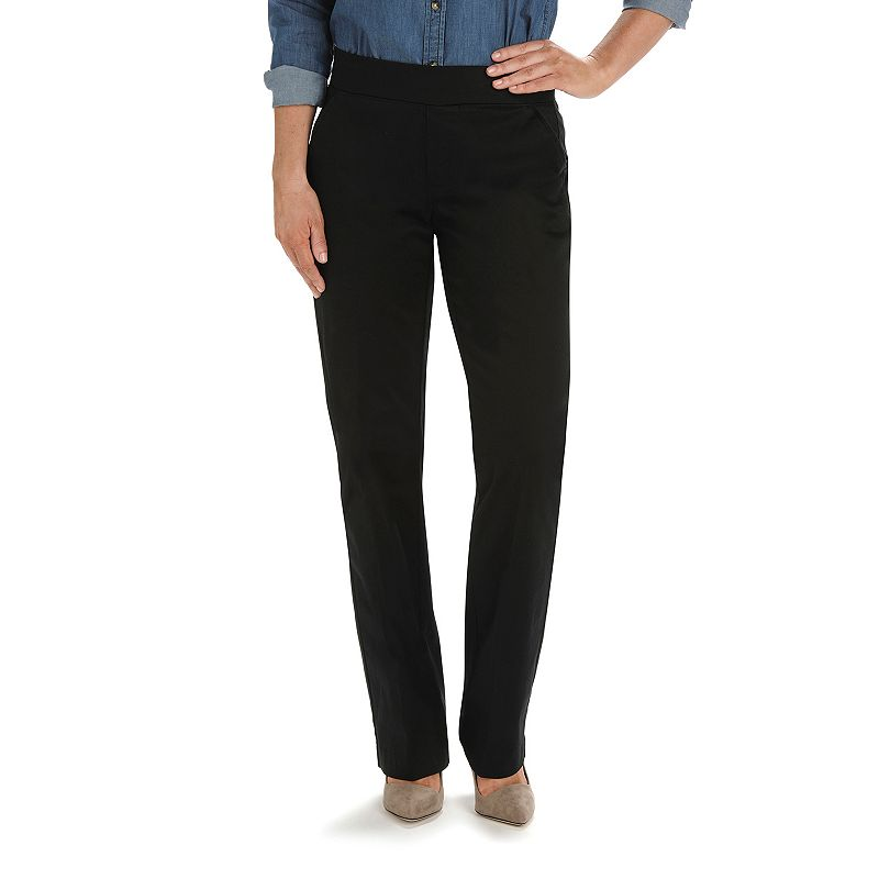 Petite Lee Natural Fit Bootcut Pull-On Pants