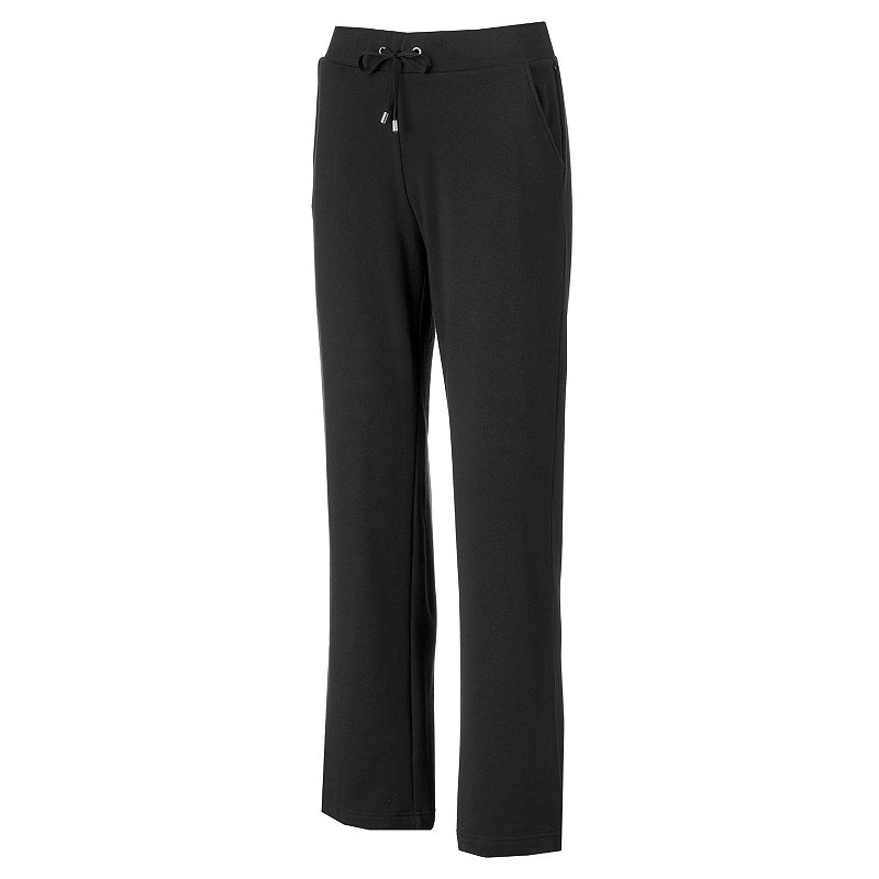 Women's Croft & Barrow® French Terry Straight-Leg Pants