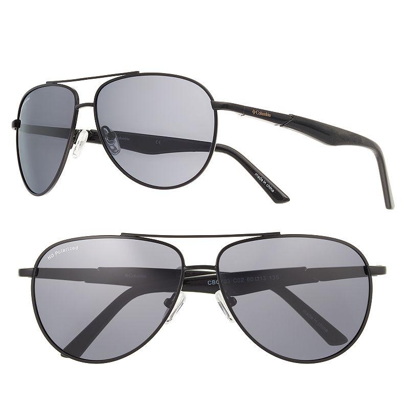 Men's Columbia Polarized Aviator Sunglasses