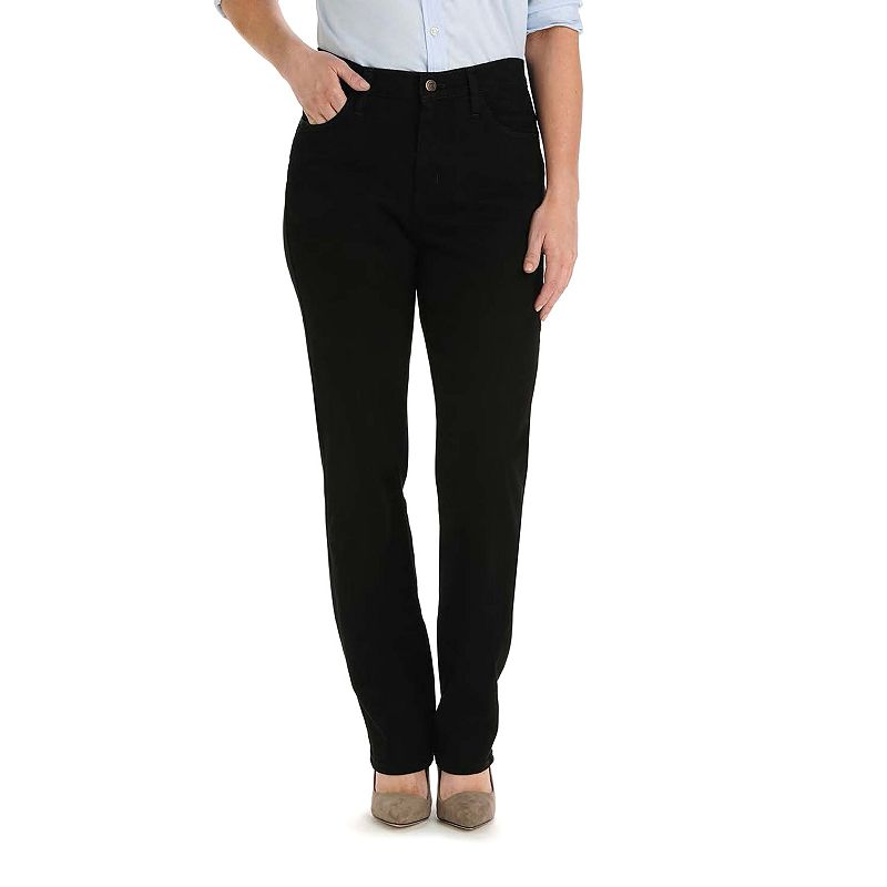 Petite Lee Relaxed Fit Straight Leg Jeans