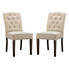 Madison Park Misha Dining Chair 2-piece Set by