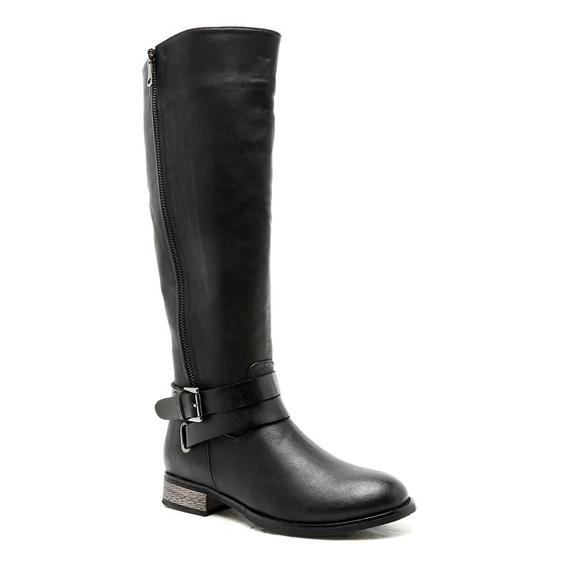 Qupid Nirvana Women's Knee-High Riding Boots