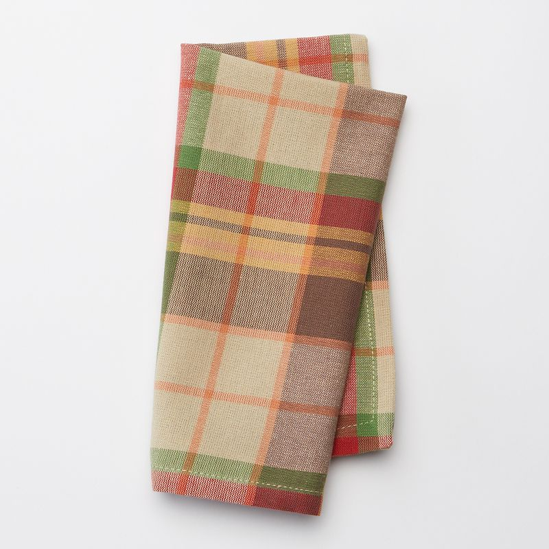 Celebrate Local Life Together 4-pc. Plaid Napkin Set
