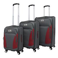 Chariot Prato 3-Piece Spinner Luggage
