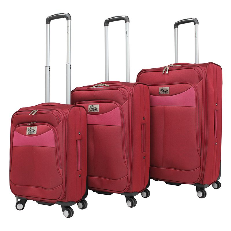 Chariot Amore 3-Piece Spinner Luggage