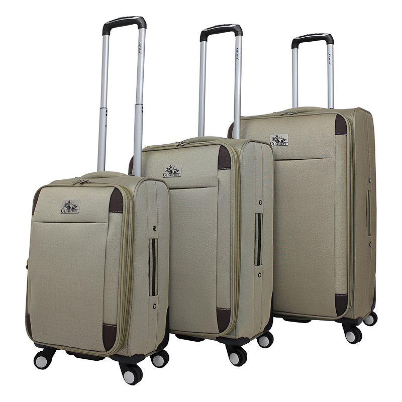 Chariot Millan 3-Piece Spinner Luggage